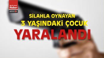 İzmir'de Silahla Oynayan 3 Yaşındaki Çocuk Yaralandı