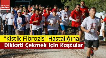 """""""Kistik Fibrozis"""" Hastalığına Dikkati Çekmek İçin Koştular"""