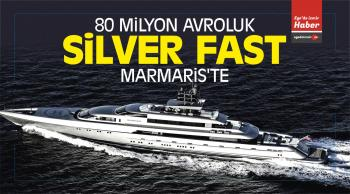 80 Milyon Avroluk Silver Fast isimli Yat Marmaris'te