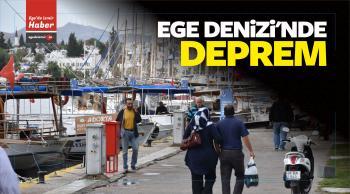 Ege Denizi'nde 4,6 Büyüklüğünde Deprem Yaşandı