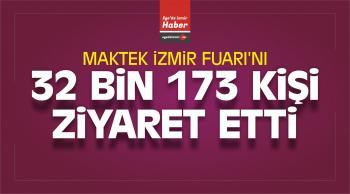 İzmir Fuarı'nı 32 Bin 173 Kişi Ziyaret Etti