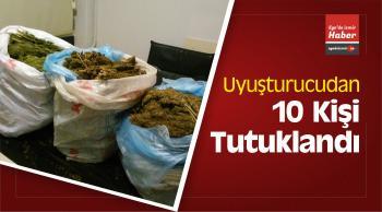 izmir'de 1 Haftada Uyuşturucudan 10 Kişi Tutuklandı
