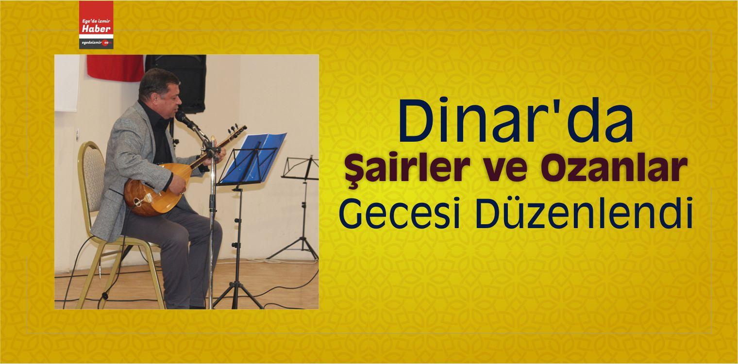 Dinar'da Şairler ve Ozanlar Gecesi