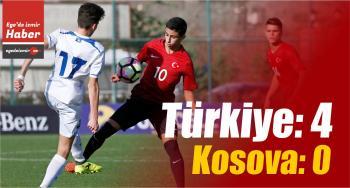19. Mercedes-Benz Ege Kupası: Türkiye: 4 – Kosova: 0