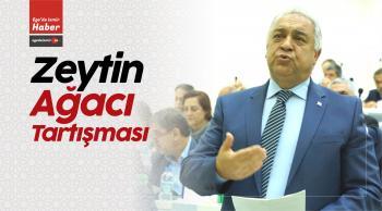 İzmir Büyükşehir Belediye Meclisinde Zeytin Ağacı Tartışması