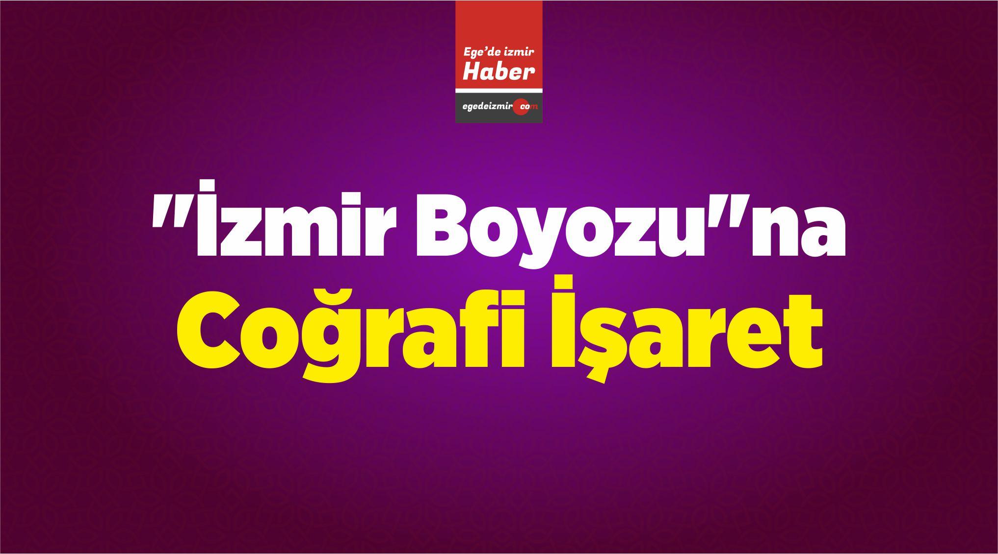 """""""İzmir Boyozu""""na Coğrafi İşaret"""