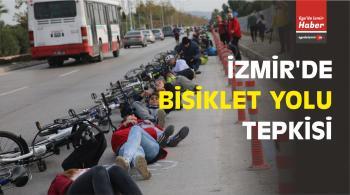 İzmir Bisiklet Birliği'nden Bisiklet Yolu Tepkisi