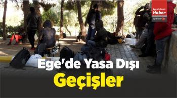 Ege'de Yasa Dışı Geçişler