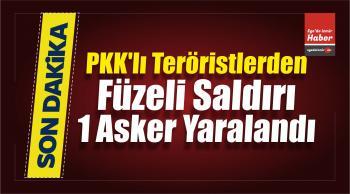 Kuzey Irak'taki PKK'lı Teröristlerden Füzeli Saldırı