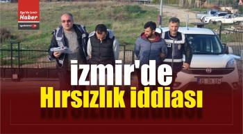 İzmir'de Hırsızlık İddiası