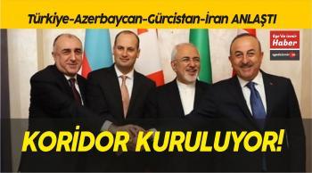 Türkiye-Azerbaycan-Gürcistan-İran anlaştı