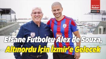 Alex de Souza, Altınordu İçin İzmir'e Gelecek