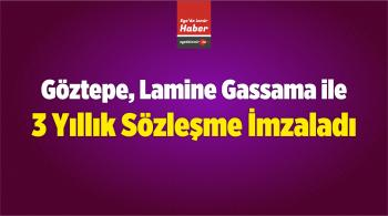 Göztepe, Lamine Gassama ile 3 Yıllık Sözleşme İmzaladı