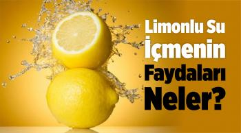 Limonlu Su İçmenin Faydaları Neler?