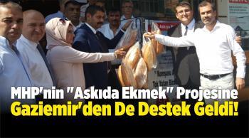 """MHP'nin """"Askıda Ekmek"""" Projesine Gaziemir'den De Destek Geldi!"""