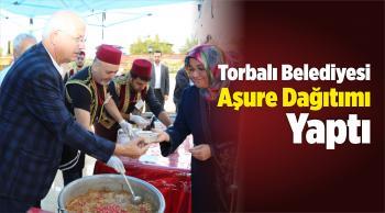 Torbalı Belediyesi Aşure Dağıtımı Yaptı