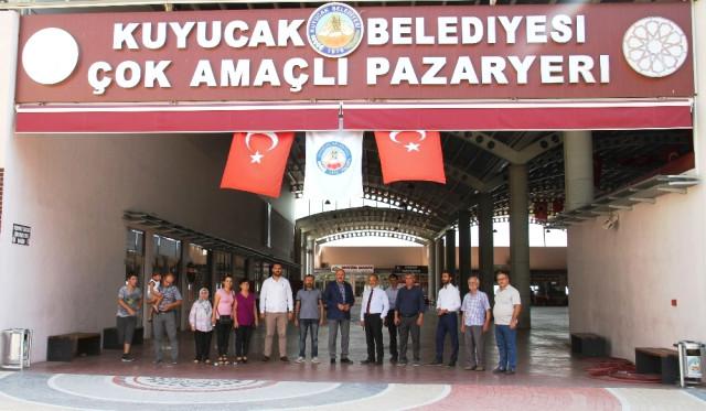 AK Parti li Yavuz dan Başkan Ertürk e Ziyaret