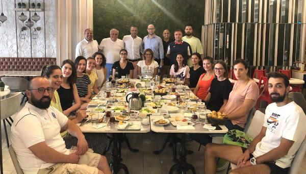 Aydın Büyükşehir Belediyespor a Kahvaltı Morali