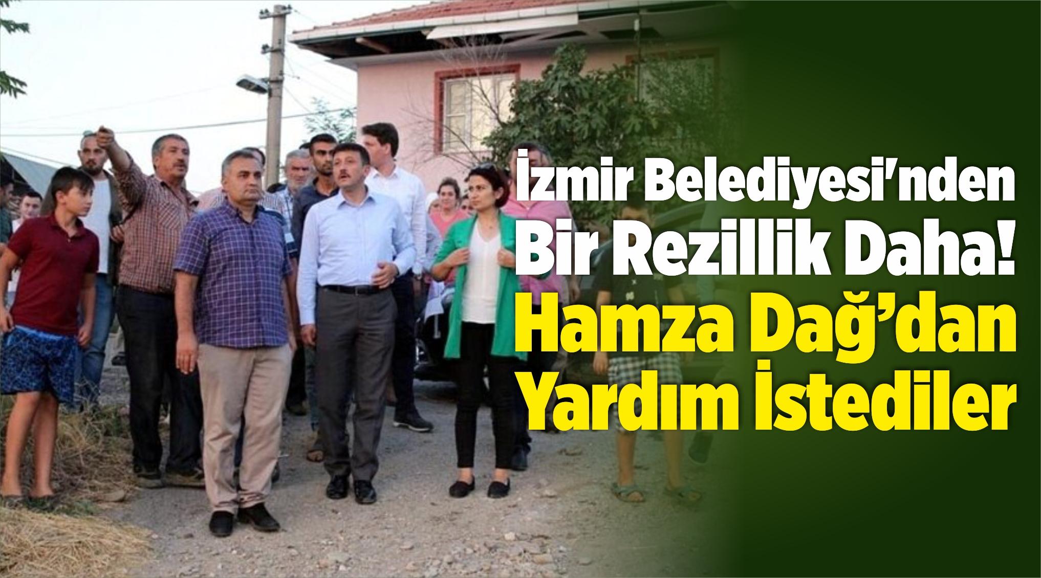 İzmir Belediyesi'nden Bir Lağım Rezilliği Daha!