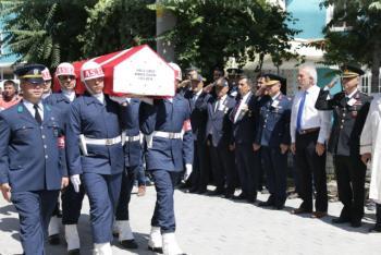 Kıbrıs Gazisi Halil Uzun, Son Yolculuğuna Uğurlandı