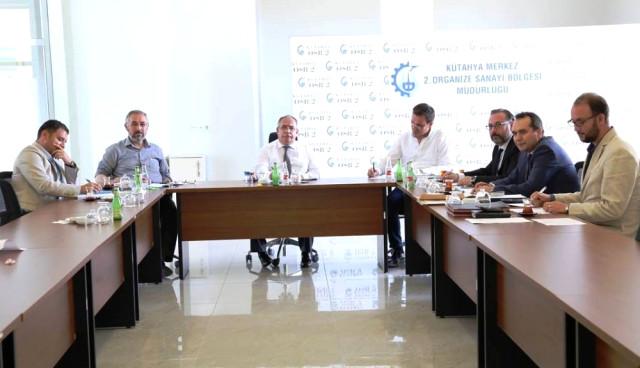 Kütahya 2. Osb Yönetim Kurulu Toplantısı Yapıldı