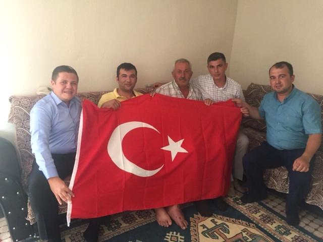 Manisa Büyükşehir den Kahraman Gaziye Vefa Ziyareti