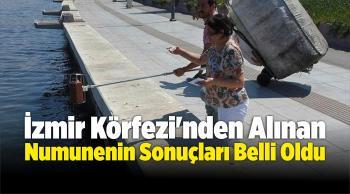 İzmir Körfezi'nden Alınan Numunenin Sonuçları Belli Oldu