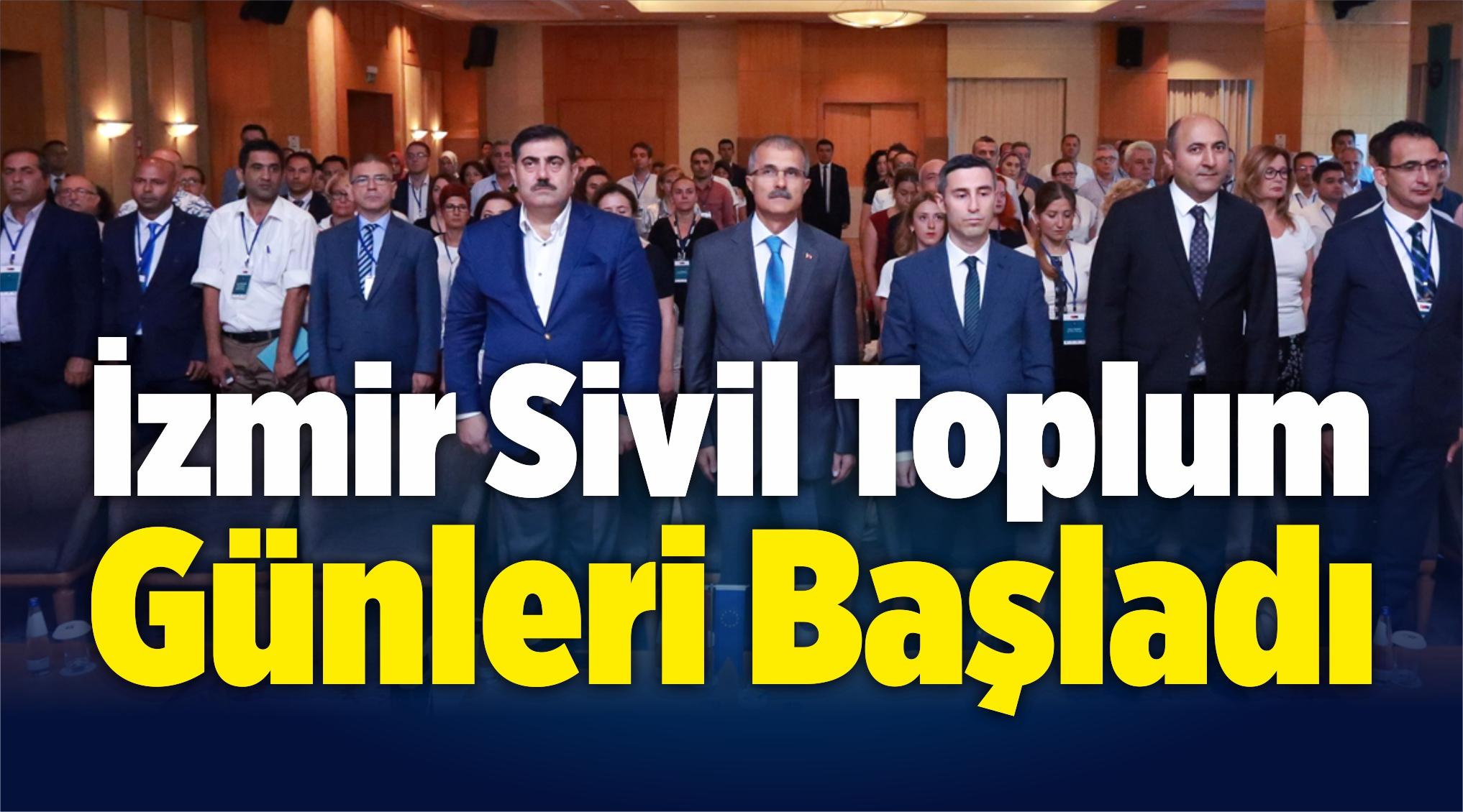 İzmir Sivil Toplum Günleri Başladı