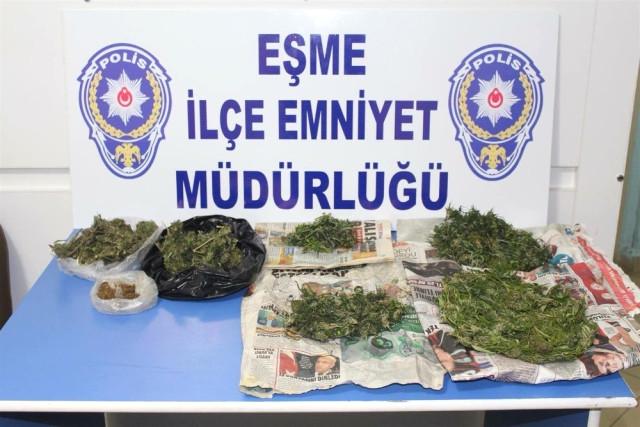 Uşak ta Uyuşturucu Operasyonu: 7 Kişi Gözaltında
