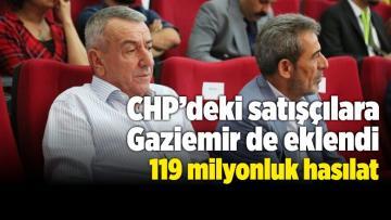 CHP'deki Satışçılara Gaziemir de Eklendi