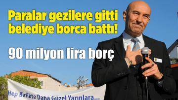 Paralar Gezilere Gitti Belediye Borca Battı!