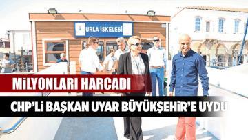 CHP'li Başkan Sibel Uyar Büyükşehir'e Uydu