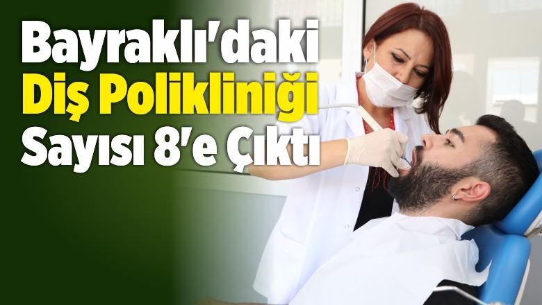 Bayraklı'daki Diş Polikliniği Sayısı 8'e Çıktı
