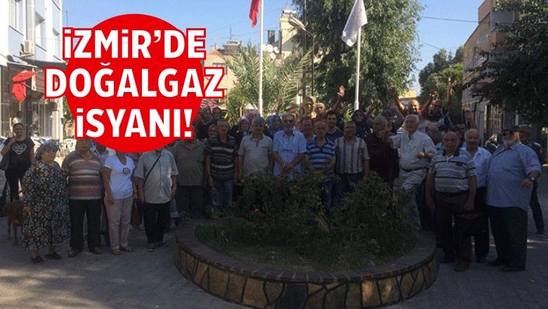 Karabağlar'da Doğalgaz Bekleyen Vatandaşlar İsyan Etti