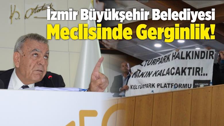 İzmir Büyükşehir Belediyesi Meclisinde Gerginlik