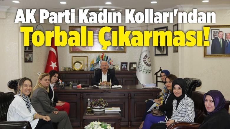AK Parti İzmir Kadın Kolları'ndan Torbalı Çıkarması!