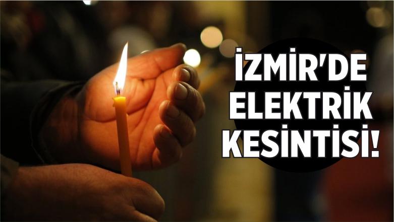 İzmir'de Elektrik Kesintisi!