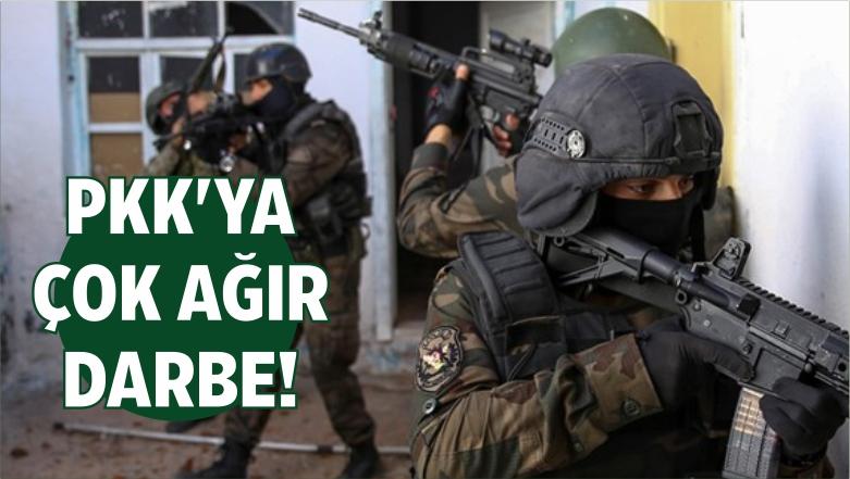 İzmir Polisinden PKK'ya Çok Ağır Darbe