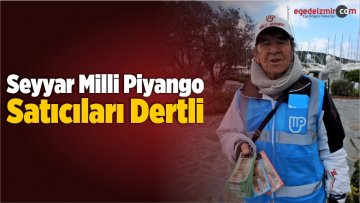 Seyyar Milli Piyango Satıcıları Dertli
