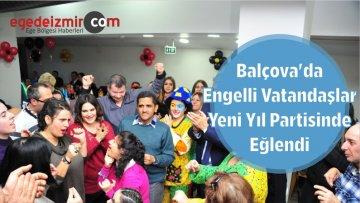 Balçova'da Engelli Vatandaşlar Yeni Yıl Partisinde Eğlendi