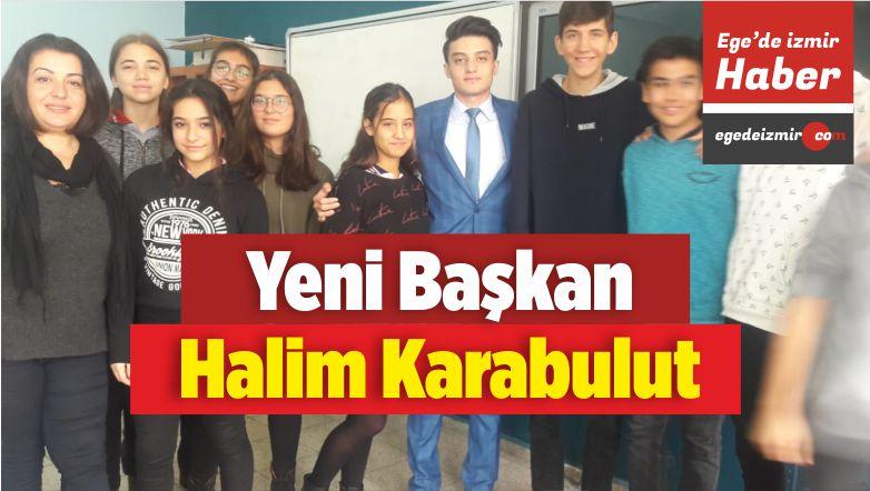 İzmir Öğrenci Meclisi Başkanlığına Halim Karabulut Seçildi