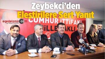 Zeybekci'den Eleştirilere Sert Yanıt