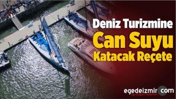 Deniz Turizmine Can Suyu Katacak Reçete