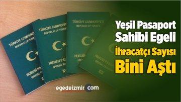 Yeşil Pasaport Sahibi Egeli İhracatçı Sayısı Bini Aştı