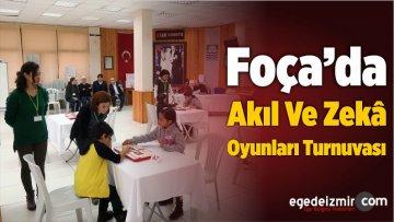 Foça'da Akıl Ve Zekâ Oyunları Turnuvası