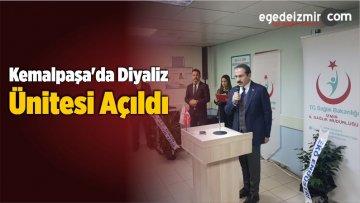 Kemalpaşa'da Diyaliz Ünitesi Açıldı