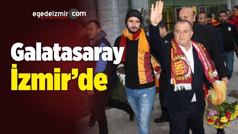 Galatasaray Hava Yolu ile İzmir'e Geldi