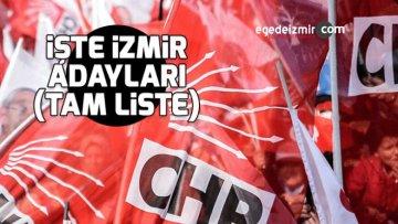 CHP İzmir İlçe Adayları Belli Oldu! İşte Tam Liste!