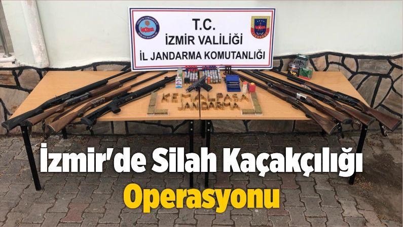 İzmir'de Silah Kaçakçılığı Operasyonu