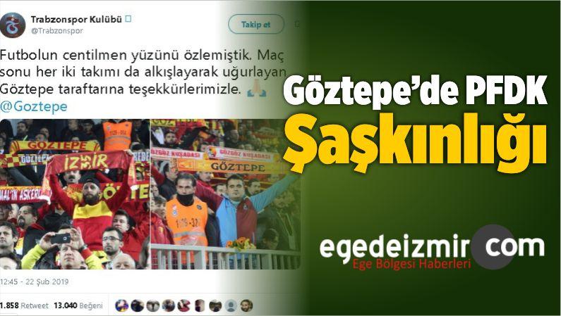 Göztepe'de PFDK Şaşkınlığı
